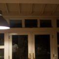 IKEAのカーテンフックを高い位置につけてみた