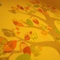 DIYで壁紙アートに挑戦!壁がオシャレに変身!