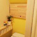 階段下のトイレ!DIYでデッドスペース解消??